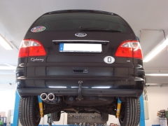 Escape final Ford Galaxy VX, WRG, VY 2,8l V6 150kW 2x76 Tipo 13 Fox