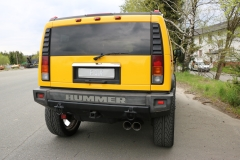 Catback deportivo Hummer H2 2x114 Tipo 25 Fox