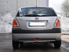 Escape final Kia Rio II 2x130x50 Tipo 52 Fox
