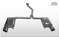 Escape final Mazda 6 GH Gasolina 115x85 Tipo 38 doble duplex derecho / izquierdo Fox