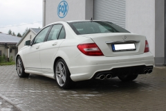 Escape final Mercedes C-Class 204 W204/ S204 4-cylinders Class 4 cylinders W204/S204 AMG Fox