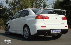 Escape final Mitsubishi Lancer Evolution X 1x129x106 Tipo 32 doble duplex derecho / izquierdo Fox