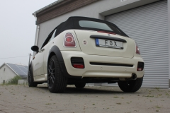 Escape final Mini One/ Cooper R57 Cabrio Final silencer 1x100 Tipo 25 Fox