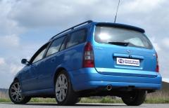 Escape final Opel Astra G G caravan OPC 1x90 Tipo 17 Fox