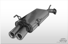 Escape final Opel Vectra B cngle system 1994` 9/1999` final silencer Diametro 55mm Fox