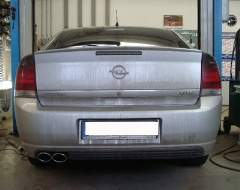 Escape final Opel Vectra C 1,6l 1,8l 2x106x71 Tipo 32 Fox
