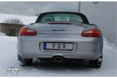 Escape final Porsche Boxster 986 2,5l 135x80 Tipo 53 center Fox