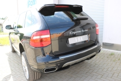 Escape final Porsche Cayenne 4,5l 4,8l 220x80 Tipo 49 doble duplex derecho / izquierdo pipe diameter: 70mm Fox