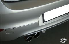 Escape final Renault Megane III notchback Hatchback/ Coupe final silencer 2x80 Tipo 12 Fox