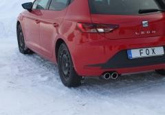 Escape final Seat Leon 5F 1,2 1,4 1,6 1,6l TDI 2,0l TDI till 110kW Individual wheel suspension 2x80 Tipo 16 Fox
