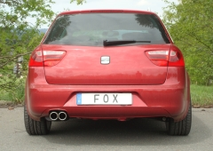 Escape final Seat Exeo 1,6l 1,8l 2,0l TDI 2x80 Tipo 16 Fox