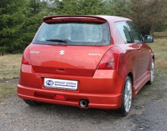 Escape final Suzuki Swift III 1,3l 68kW 1,5l 75kW 1x90 Tipo 13 Fox