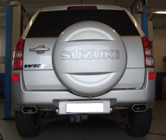 Escape final Suzuki Grand Vitara JT 160x80 Tipo 52 doble duplex derecho / izquierdo Fox
