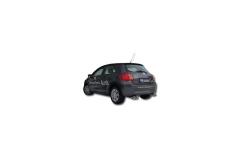 Escape final Toyota Auris 2006-2011 Diesel 2x90 Tipo 13 doble duplex derecho / izquierdo Fox