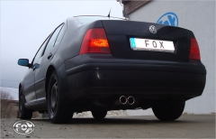 Escape final VW Bora 4-Motion 4 Motion final silencer Fox