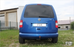 Escape final VW Caddy 2x80 Tipo 17 Fox