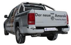 Escape final VW Amarok with footboard 160x80 Tipo 53 doble duplex derecho / izquierdo Fox