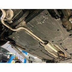 Escape intermedio central deportivo VW GOLF VII 7 GTE 1.4 150CV Fox 2014-