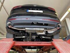 Escape final deportivo para VW Volkswagen Touareg CR7 3.0 TDI 231CV Fox
